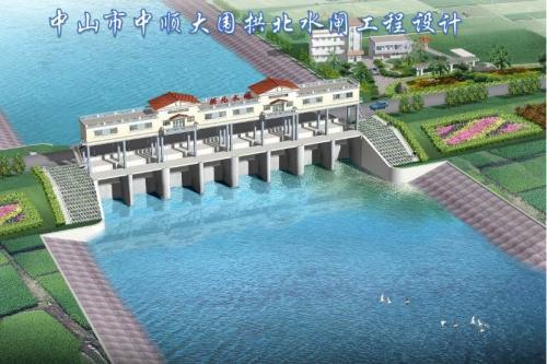 ope安卓客户端中顺大围拱北水闸工程设计