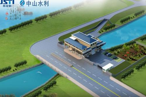 中顺大围古镇镇洼口泵站工程—江头滘站
