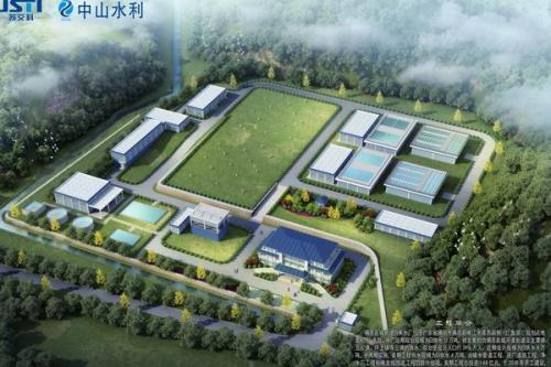 揭西县城新建自来水厂